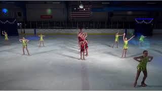 Jenna Kanouse figure skating 2017 F