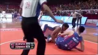 Daniel ORTON VS Liu WEI Brawl During CBA