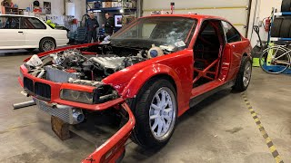 BMW e36 m50b25 Turbo Dušanova cesta #KRSTDRFT drift lifestyle vlog #271