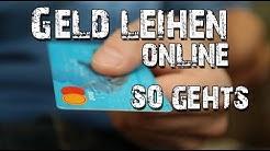 Geld leihen online - sofort Bargeld bekommen!