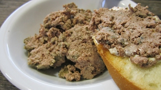 Паштет из печени рецепт | Как приготовить домашний паштет из свиной печени | Pâté de foie de porc