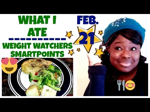 What I Ate | Weight Watchers SmartPoints + Intermittent Fasting | FEB. 21 | Camp Crystal Lake