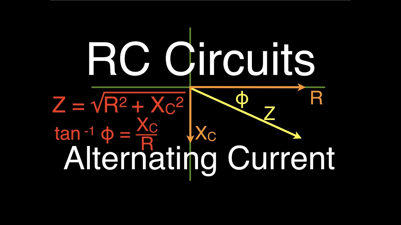 RLC Circuits (6 of 19) Series RC; An Explanation, Voltage ...