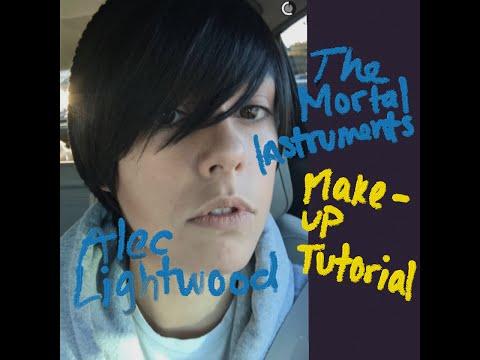 The Mortal Instruments- Alec Lightwood Makeup Tutorial