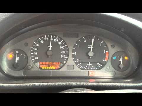 Instrument Cluster Check, BMW E36