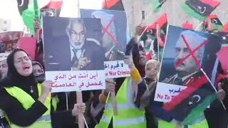 Libyans protest after Trump shows support to Haftar
