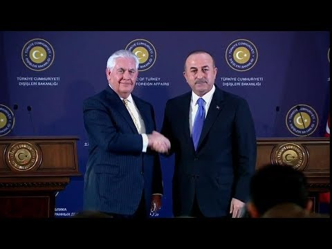 Secretary Tillerson Presser with Turkish Foreign Minister Cavusoglu