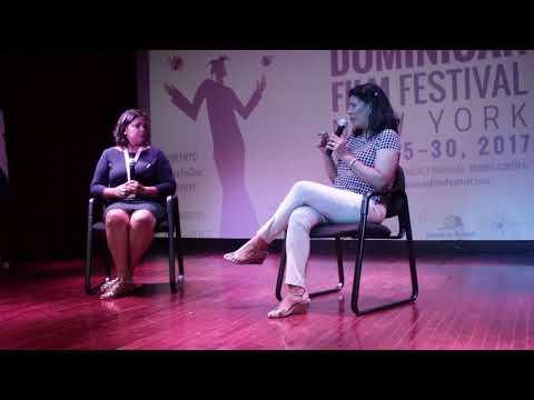 DGCINE Presidente Yvette Marichal Panel - 2017 Dominican Film Festival