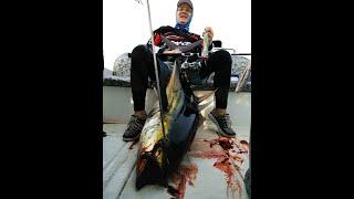 Fishing on Maldives TUNA 45 kg popping Restaffine rod Морская рыбалка Мальдивы