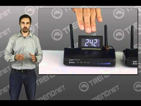TRENDnet GREENwifi Power Savings - New to Networking (802.11n)