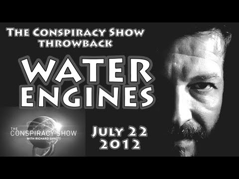 (The Conspiracy Show Throwback) Water Engines with Ozzie Freedom; from July 22, 2012