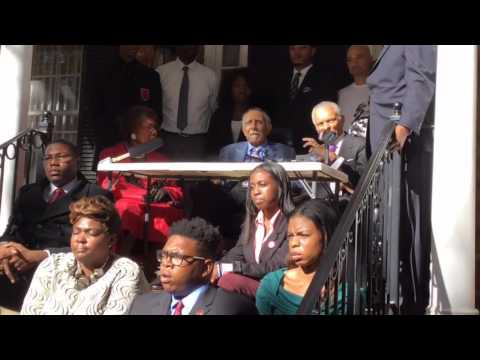 Dr. Joseph E. Lowery, Rev. C. T. Vivian, Ambassador Young and Other Civil Rights Leaders Join Forces