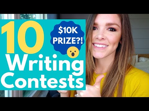 10 Writing Contests To Enter in 2020 - CASH PRIZES