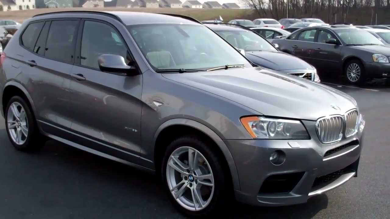 2011 Bmw X3 Xdrive35i M Sport Manheim Imports Youtube