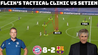 Tactical Analysis: Bayern Munich 8-2 Barcelona | Flick's Complete& Systematic Destruction Of Setien|