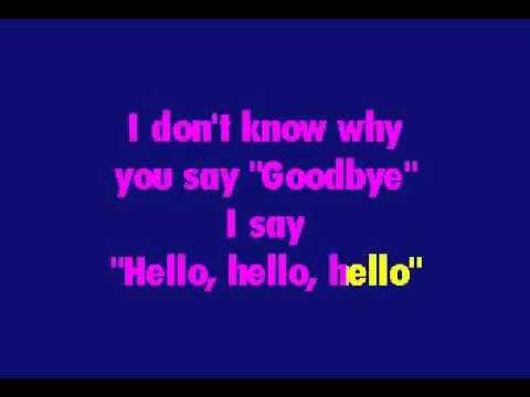 Beatles   Hello, Goodbye
