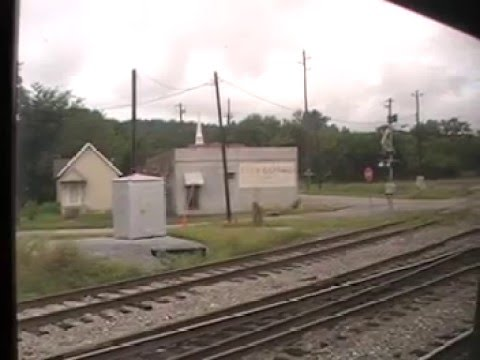 Amtrak - Crescent Train - New Orleans to New York