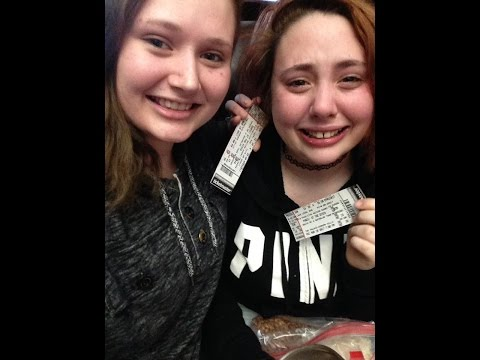 Surprising My Sister With Panic! At The Disco Concert Tickets | Music Until The End Of Time
