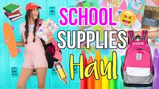 Back to School Supplies Haul + What's in my BackPack 2016!