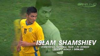 Талантливый полузащитник сборной Кыргызстана и ФК Дордой Бишкек Ислам Шамшиев