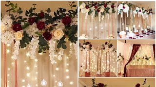 DIY- tall centerpiece DIY- tall taper candleholders DIY-wedding Decor Diy- tall modern rectangle