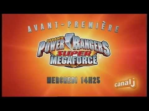 Power Rangers Super Megaforce - Canal J - Bande annonce - Av