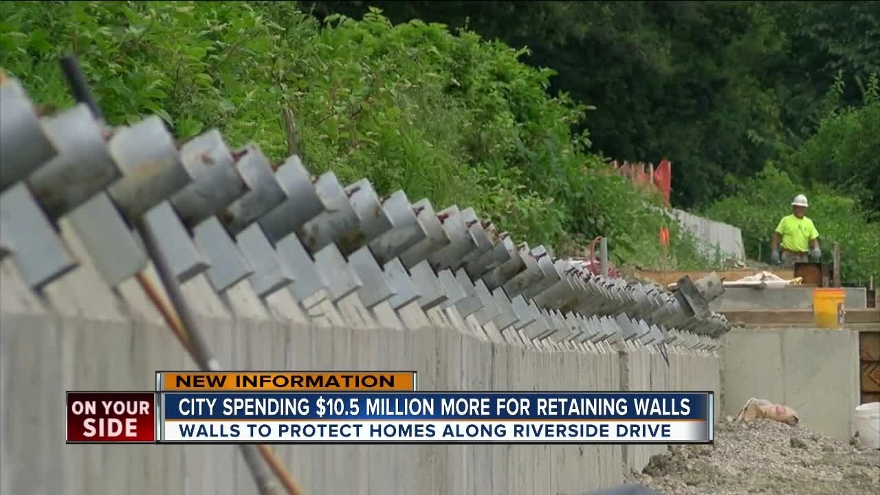 Additional Riverside Drive Retaining Walls Will Cost City 10 5