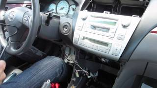 GTA Car Kits - Toyota Solara 2004-2008 install of iPhone, Ipod and AUX adapter for factory stereo