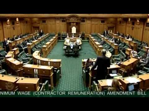 Minimum Wage (Contractor Remuneration) Amendment Bill Committee Stage taken as one debate - Part 20