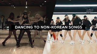 Kpop Girl Groups Choreographies to Non-Korean Songs