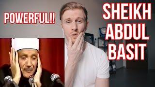 Download POWERFUL QURAN RECITATION BY SHEIKH ABDUL BASIT // REACTION