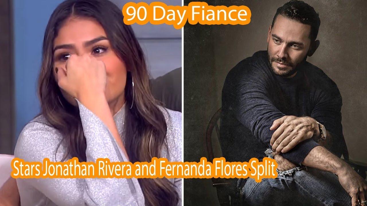 Why 90 Day Fiancé Stars Jonathan Rivera and Fernanda Flores Split