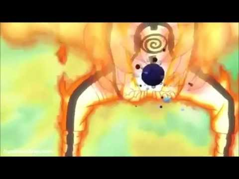 Naruto's Nine Tails Form Rasengan from Episode 270 - YouTube