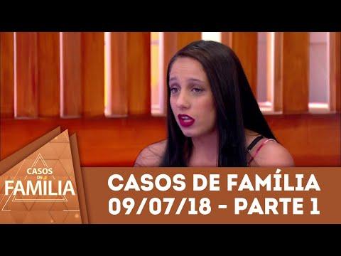 Caso do dia (09/07/18) - Parte 1 | 'Sua mãe cuidou de você a vida toda...' | Casos de Família