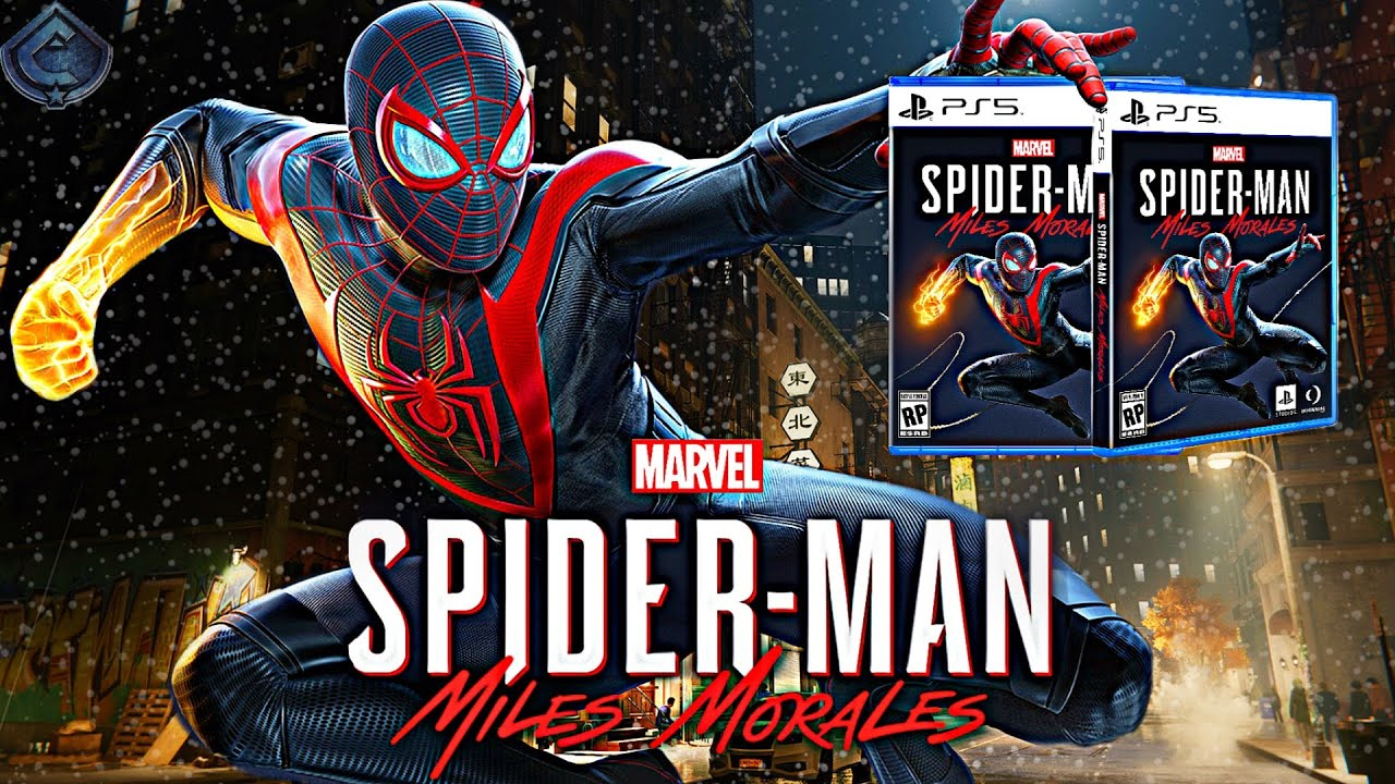 Spider-Man: Miles Morales PS5 - OFFICIAL BOX ART REVEALED! - YouTube