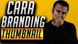🔴  Live  Cara Buat Thumbnail Branding Di Youtube  | Youtuber Malaysia