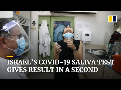 Israeli hospital trials quick saliva test for Covid-19 that gives result in less than a second