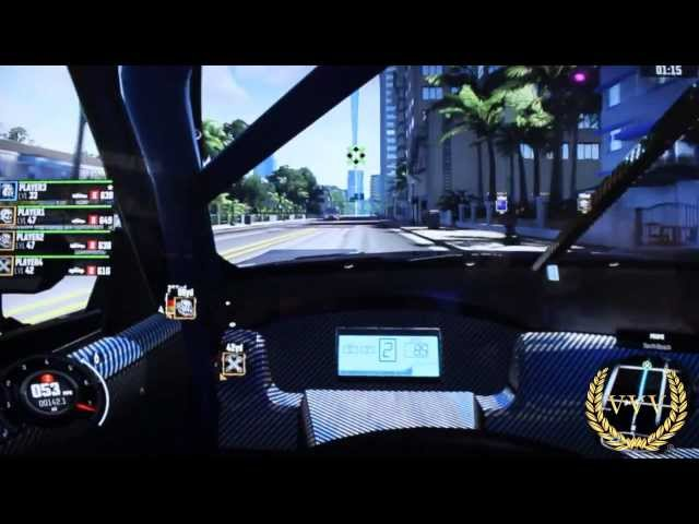 The Crew Multiplayer Gameplay E3 2013