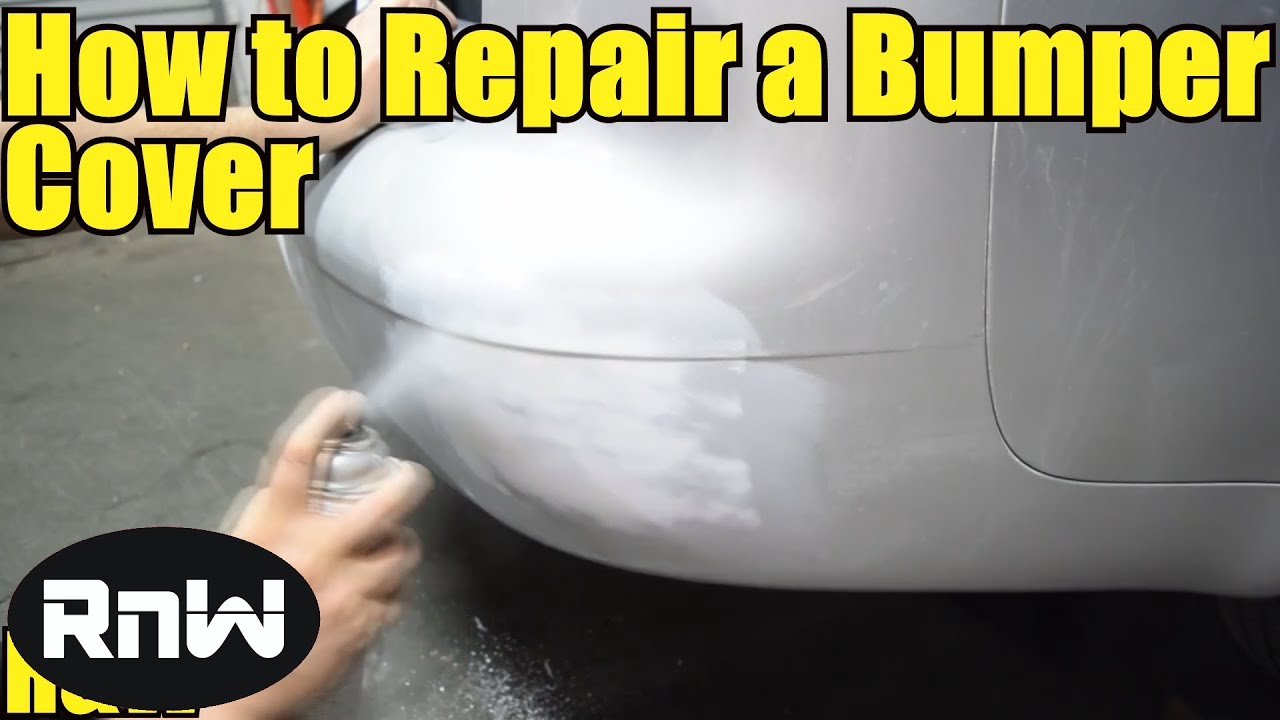 How To Repair And Paint A Plastic Bumper Cover For Beginners Part I