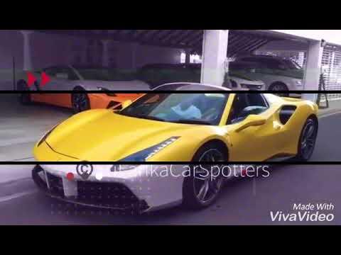 2017 SRI LANKA FERRARI CARS