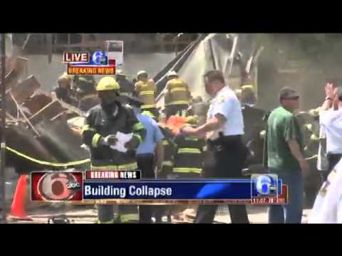 Center City Building #Collapse, People Trapped in Rubble in Philadelphia Breaking News)
