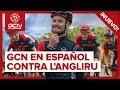 GCN en Español Contra L'Angliru: Desafío Entre Presentadores de GCN