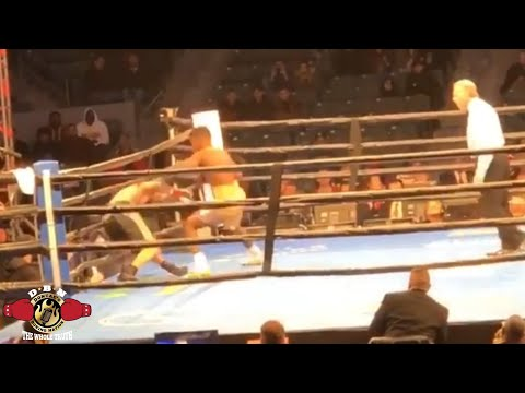 (WOW!) ERIKSON LUBIN VS ISHE SMITH FIGHT REPORT BY DBN