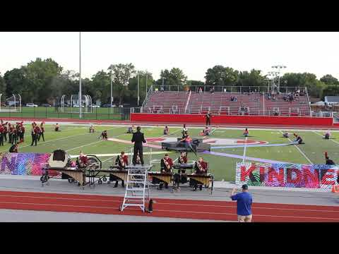 East Peoria High School Marching Band - 9/14/19 at Morton