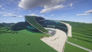 Minecraft School Rollercoaster 360° video 4K
