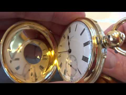 Antique grand sonnerie & repeater pocket watch