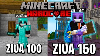 Am SUPRAVIETUIT 150 de ZILE in MINECRAFT HARDCORE !