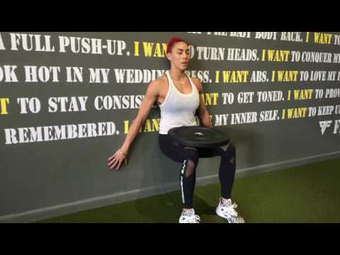 Weighted Wall Sit