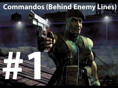 Commandos Behind Enemy Lines game play walk through Level #1 |