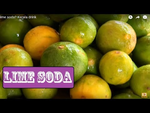 Making Lime Soda